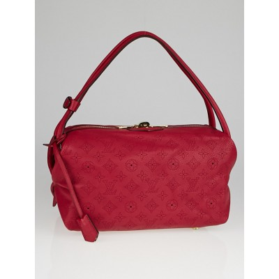 Louis Vuitton Grenat Mahina Leather Galatea PM Bag