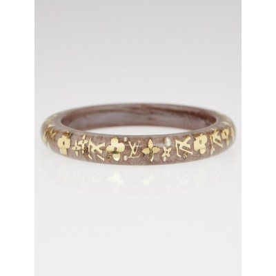Louis Vuitton Praline Resin Monogram Inclusion PM Bracelet