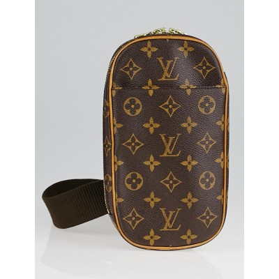 Louis Vuitton Monogram Canvas Pochette Gange Bag