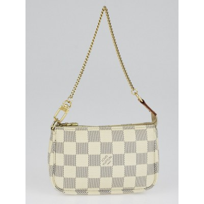 Louis Vuitton Damier Azur Canvas Mini Accessories Pochette Bag