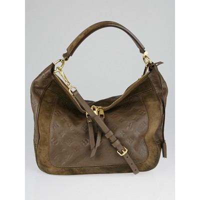Louis Vuitton Ombre Monogram Empreinte Leather Audacieuse MM Bag