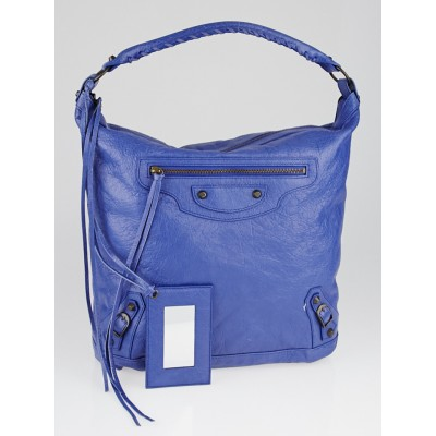 Balenciaga Bluette Lambskin Leather Day Bag