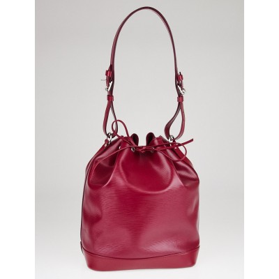 Louis Vuitton Fuchsia Epi Leather Noe NM Bag
