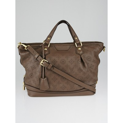 Louis Vuitton Gris Perle Monogram Mahina Leather Stellar PM Bag