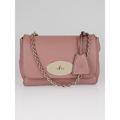 Mulberry Dark Blush Leather Small Lily Bag