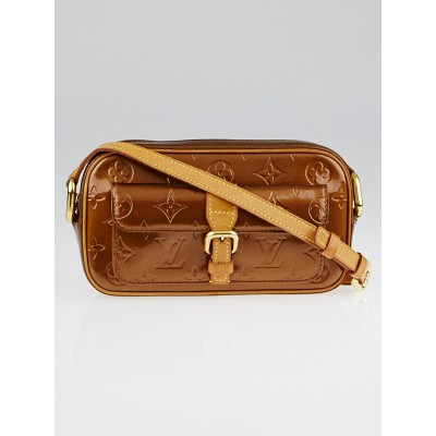 Louis Vuitton Monogram Bronze Monogram Vernis Christie MM Bag