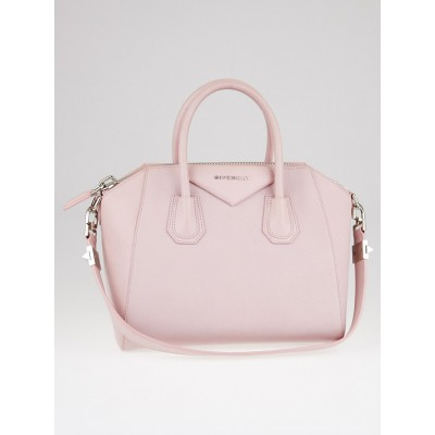 Givenchy Pale Pink Sugar Goatskin Leather Small Antigona Bag