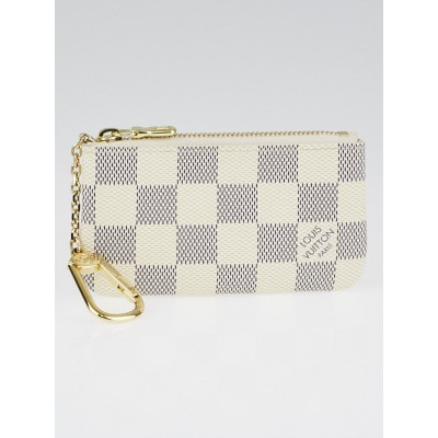 Louis Vuitton Damier Azur Canvas Pochette Cles Key and Change Holder