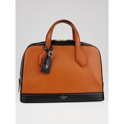 Louis Vuitton Camel Leather Caivre Dora MM Tote Bag
