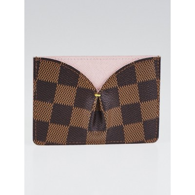 Louis Vuitton Rose Ballerine Damier Canvas Caissa Card Holder