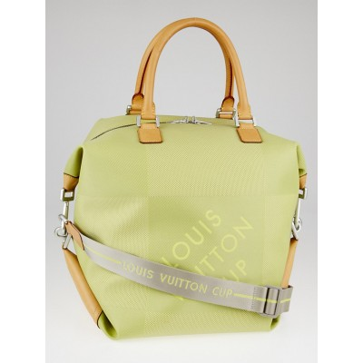 Louis Vuitton Limited Edition LV Cup Jaune Damier Geant America Cube Bag