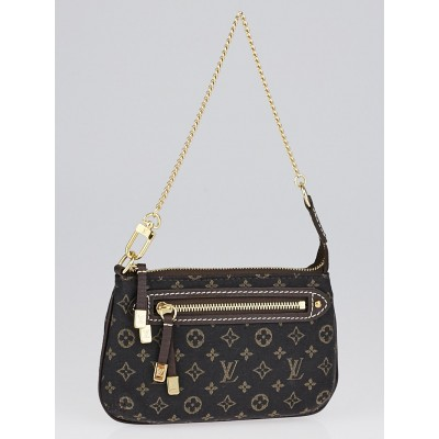 Louis Vuitton Fusain Monogram Idylle Mini Accessories Pochette Bag