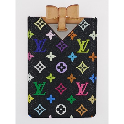 Louis Vuitton Black Monogram Multicolore Etui Miroir Mirror and Case