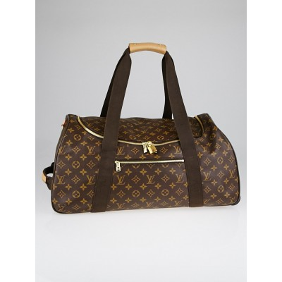 Louis Vuitton Monogram Canvas Neo Eole 55 Rolling Duffle Bag