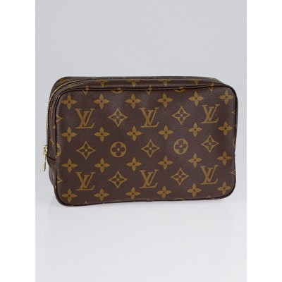 Louis Vuitton Vintage Monogram Canvas Trousse Toilette 23 Cosmetic Bag