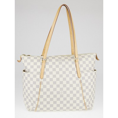 Louis Vuitton Damier Azur Canvas Totally MM NM Bag
