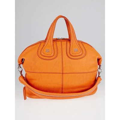 Givenchy Orange Sugar Goatskin Leather Medium Nightingale Bag
