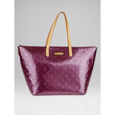 Louis Vuitton Violette Monogram Vernis Bellevue GM Bag