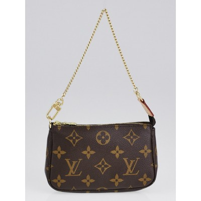 Louis Vuitton Monogram Canvas Mini Accessories Pochette Bag