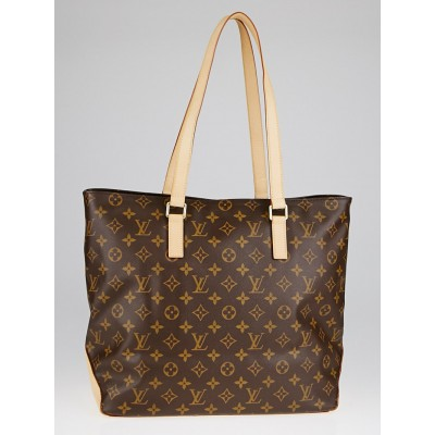 Louis Vuitton Monogram Canvas Cabas Mezzo Tote Bag