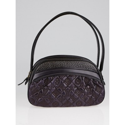 Louis Vuitton Limited Edition Aubergine Monogram Leather Clara Klara Vienna Bag