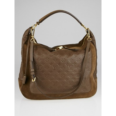 Louis Vuitton Ombre Monogram Empreinte Leather Audacieuse GM Bag