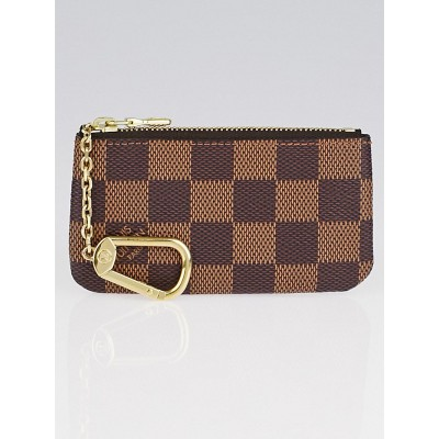 Louis Vuitton Damier Canvas Pochette Clefs Key and Change Holder