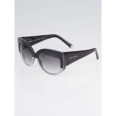 Louis Vuitton Black and Grey Oversized Acetate Frame Veronika Sunglasses-Z0587W