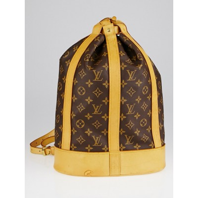 Louis Vuitton Monogram Canvas Randonnee PM Bag