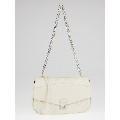 Louis Vuitton Limited Edition Ivory Monogram Mama Broderie Pochette Bag