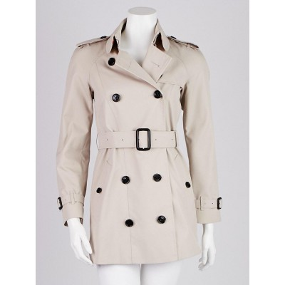 Burberry Prorsum Trench Cotton Blend Trench Coat Size 0