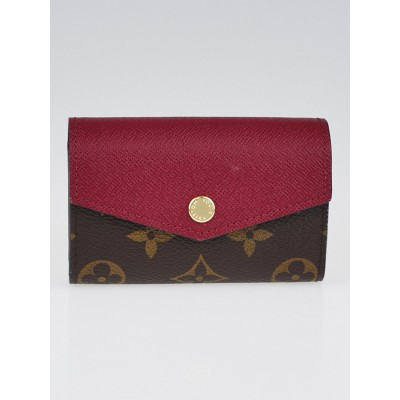 Louis Vuitton Fuchsia Monogram Canvas Sarah Multicartes Wallet