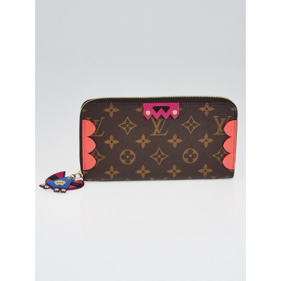 Louis Vuitton Monogram Canvas Flamingo Zippy Totem Wallet