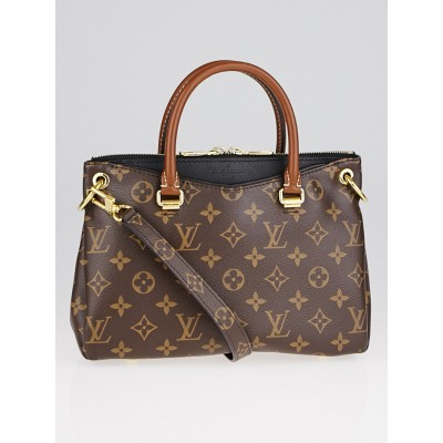 Louis Vuitton Black Monogram Canvas Pallas BB Bag