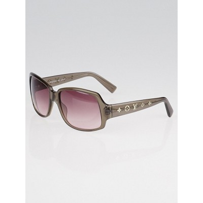 Louis Vuitton Brown Acetate Frame Monogram Obsession GM Sunglasses