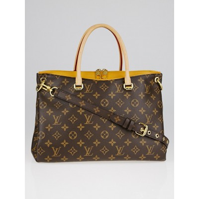 Louis Vuitton Saffron Monogram Canvas Pallas Bag