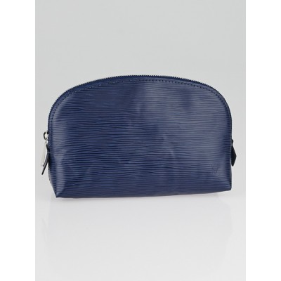 Louis Vuitton Indigo Epi Leather Cosmetic Pouch