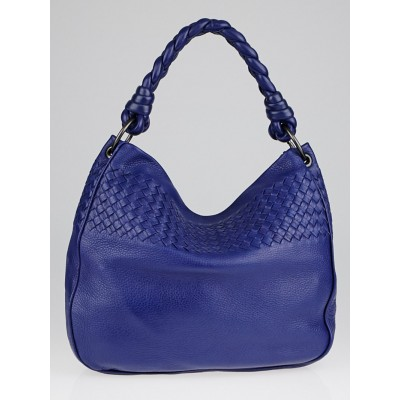 Bottega Veneta Cobalt Cervo Leather Hobo Bag