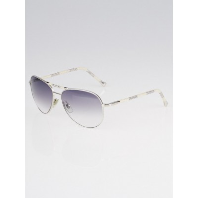 Louis Vuitton Damier Azur Conspiration Pilote Sunglasses