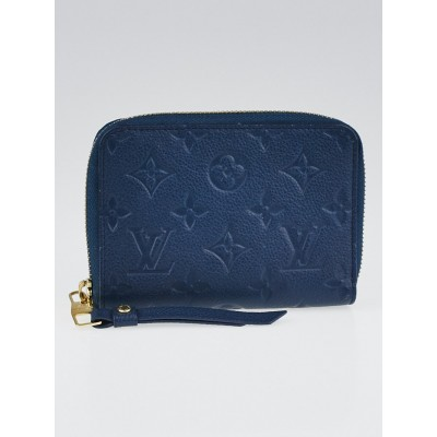 Louis Vuitton Orage Monogram Empreinte Leather Secret Compact Wallet
