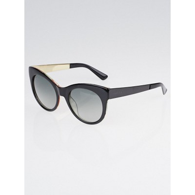 Gucci Black Optyl Frame Cat Eye Sunglasses-3740/S