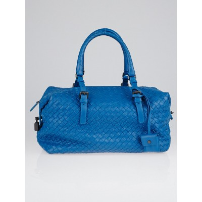 Bottega Veneta Empire Intrecciato Woven Nappa Leather Montaigne Satchel Bag