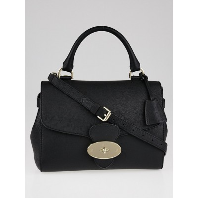 Mulberry Black Grainy Calf Leather Primrose Bag