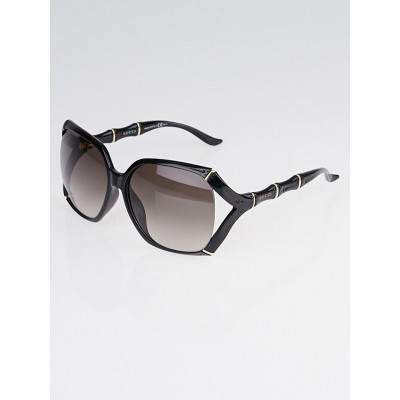 Gucci Black Frame Bamboo Sunglasses-3508/S