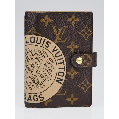 Louis Vuitton Limited Edition Monogram Canvas Complice Trunks & Bags Small Ring Agenda Cover