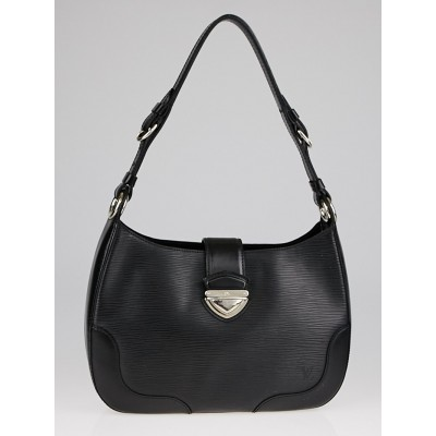 Louis Vuitton Black Epi Leather Musette Bagatelle Bag