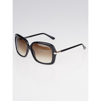 Tom Ford Black Frame Gradient Tint Paloma Sunglasses-TF232
