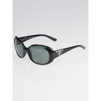 Prada Black Frame Oversized Sunglasses - SPR27L
