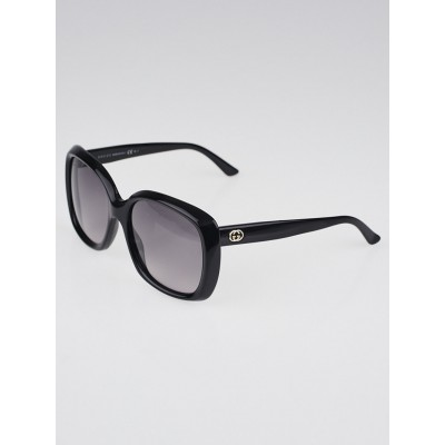 Gucci Black Plastic Frame Oversized Sunglasses - GG 3612
