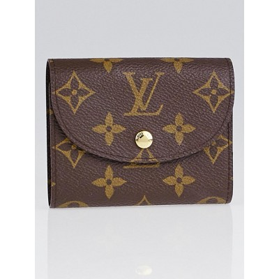 Louis Vuitton Monogram Canvas Helene Wallet